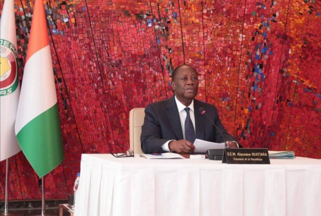 Présidentielle ivoirienne : Alassane Dramane Ouattara donné vainqueur au 1er tour par la CEI