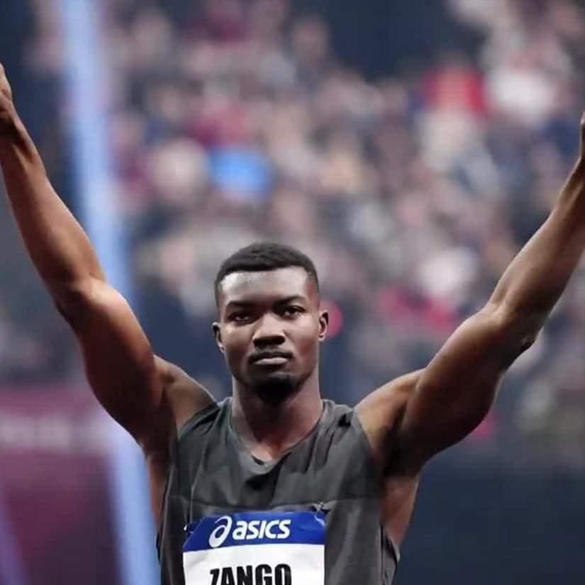 Hugues Fabrice Zango, la vitrine mondiale du triple saut en salle